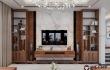 Sofa nỉ khung gỗ óc chó Nội thất Việt Mỹ đẹp bền mãi với thời gian