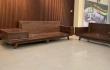 Lựa chọn Sofa gỗ óc chó góc phòng khách cho không gian nhỏ