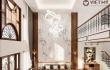 Mẫu thiết kế không gian nội thất gỗ óc chó biệt thự Bắc Giang