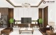 Thiết kế nội thất biệt thự hiện đại tại Vinhomes The Hamony