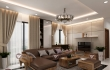 Bố trí sofa da phòng khách như thế nào là hợp lý nhất