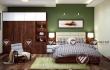 Thiết kế nội thất phòng ngủ gỗ óc chó VIỆT MỸ